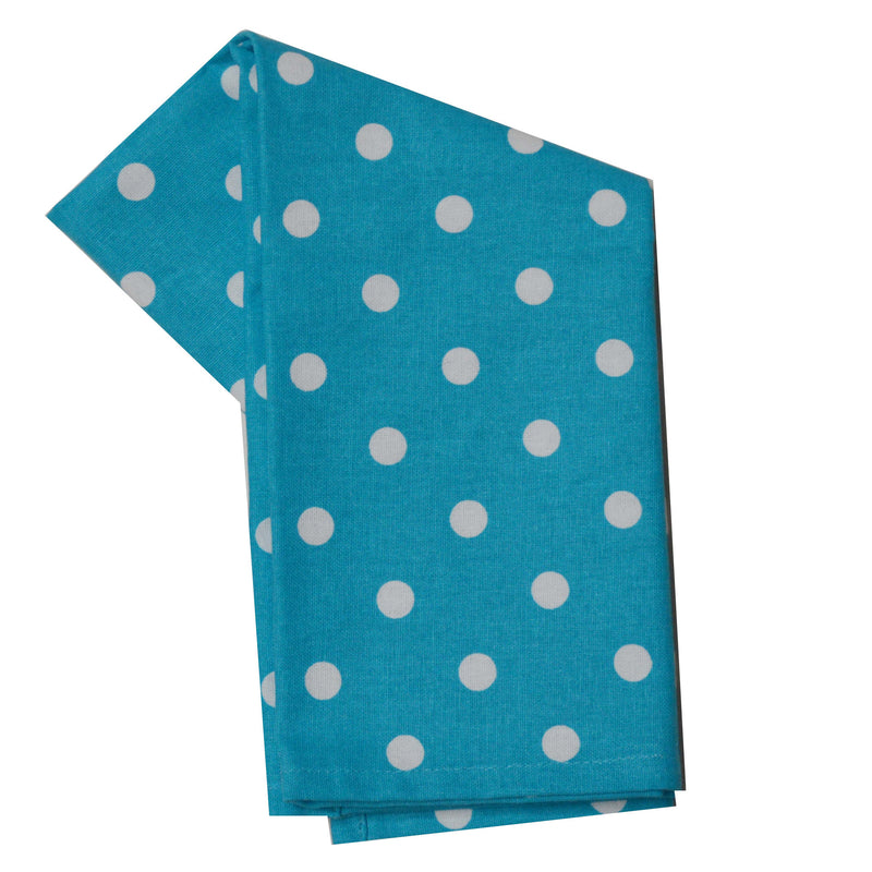 Tea Towel - Dunroven House Polka Dot Print