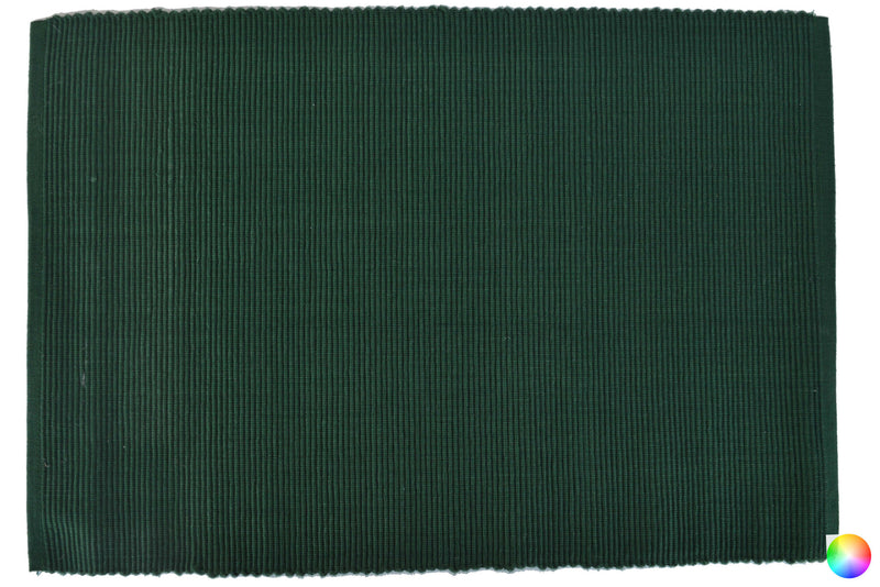 Solid Color Ribbed Placemats