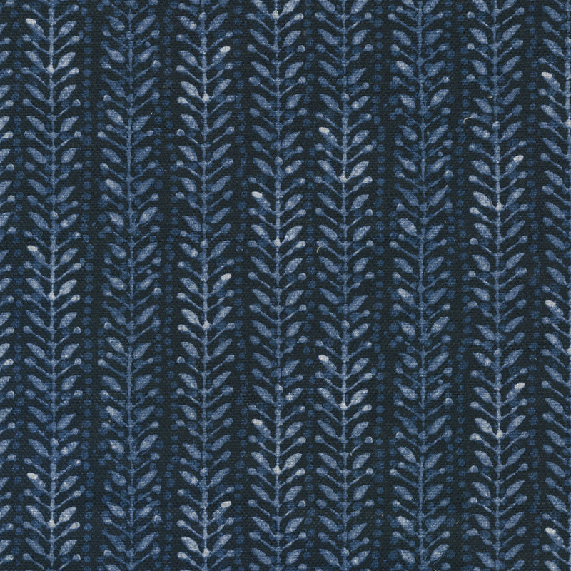 Performance + Kumo Branch - Indigo 409210 Upholstery Fabric
