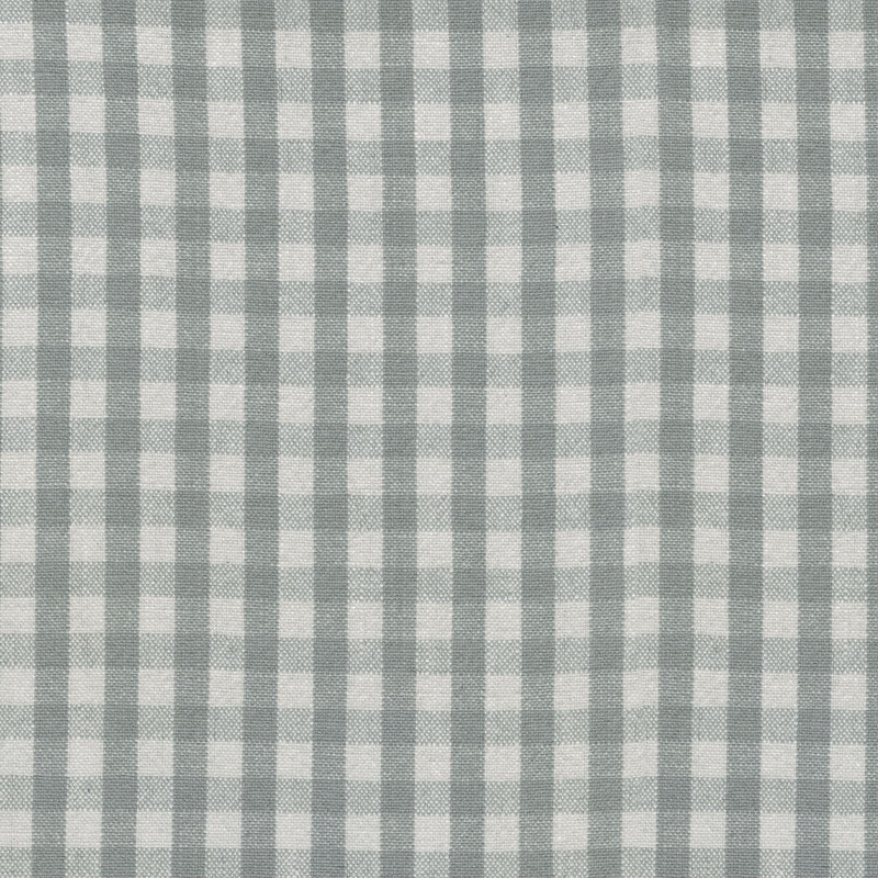 P/K Lifestyles Logan Check - Silver 408906 Upholstery Fabric