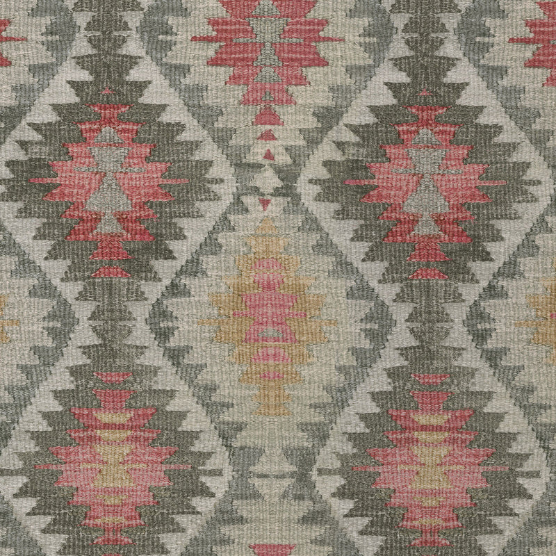 P/K Lifestyles Neema Afghan - Ember 408782 Upholstery Fabric