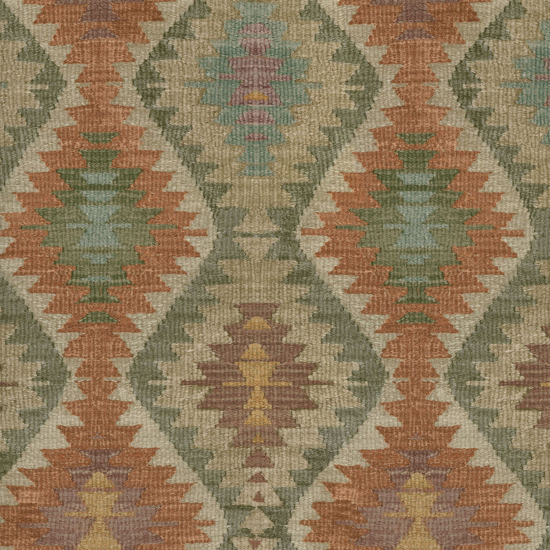 P/K Lifestyles Neema Afghan - Canyon 408780 Fabric Swatch