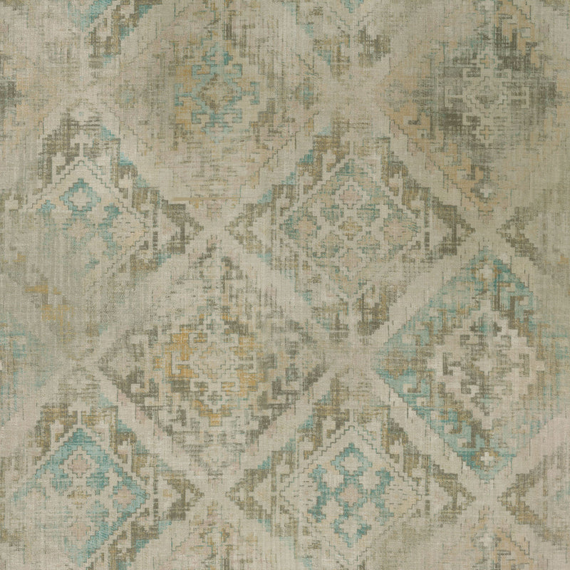 P/K Lifestyles Omari Tapestry - Pearl 408791 Upholstery Fabric