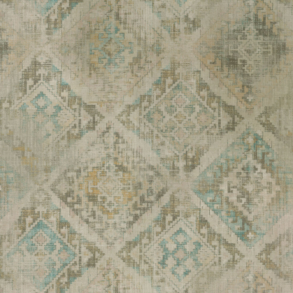 P/K Lifestyles Omari Tapestry - Pearl 408791 Fabric Swatch