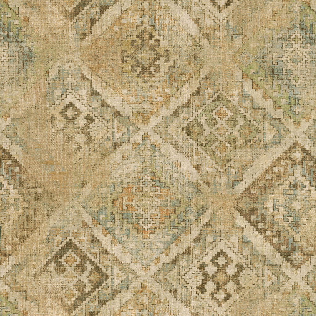 P/K Lifestyles Omari Tapestry - Toffee 408793 Fabric Swatch
