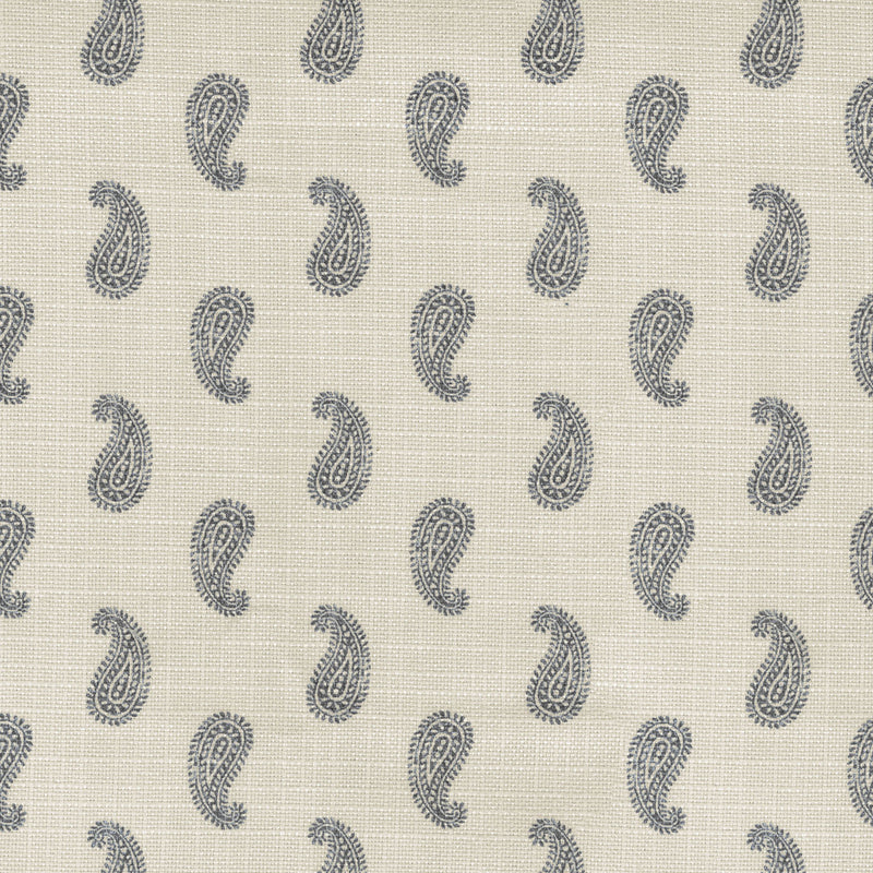 Performance + Simple Stamp - Charcoal 409220 Upholstery Fabric