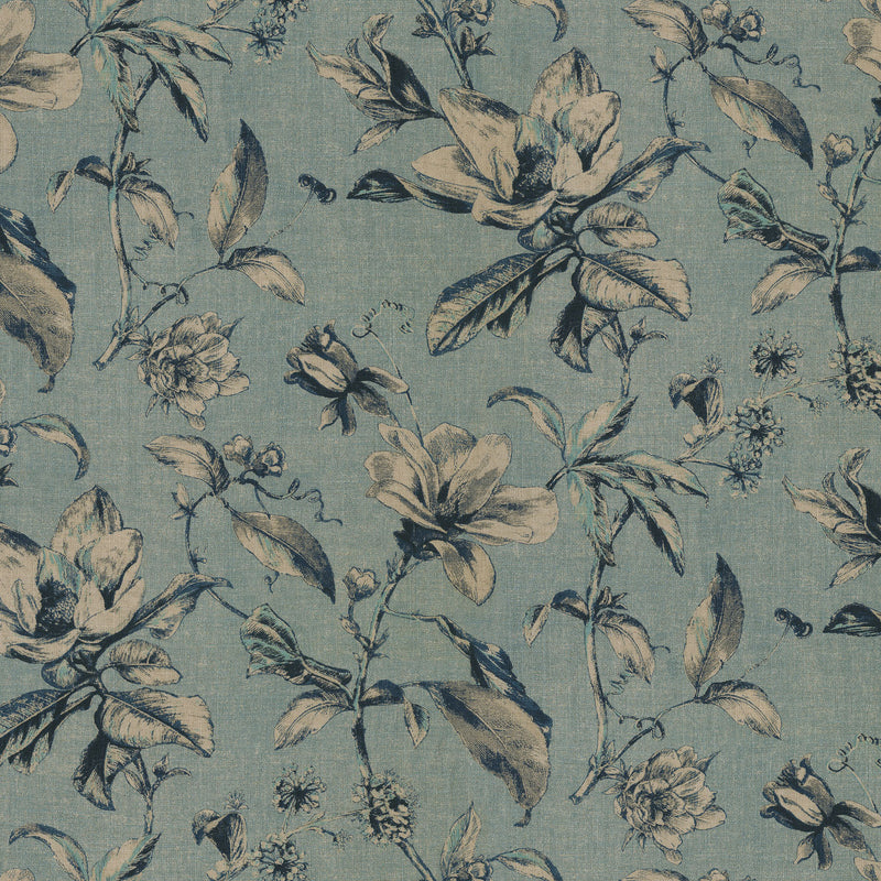 Waverly Sweet Bay - Ink 681900 Upholstery Fabric