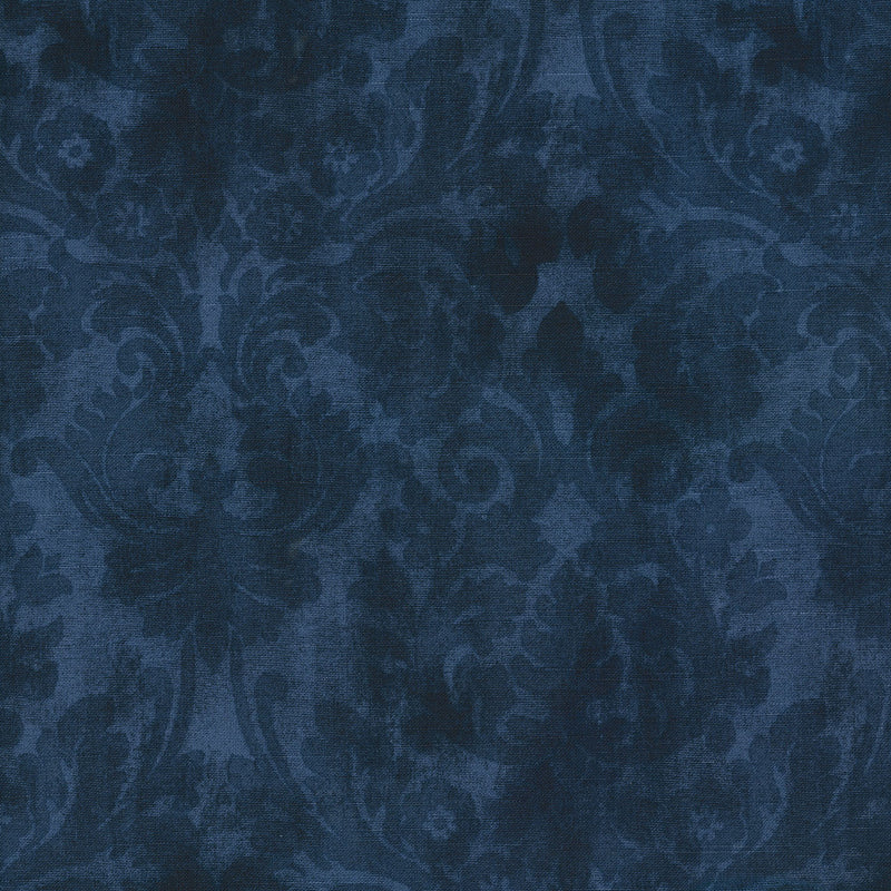 Waverly Vintage Essence - Indigo 682020 Fabric Swatch