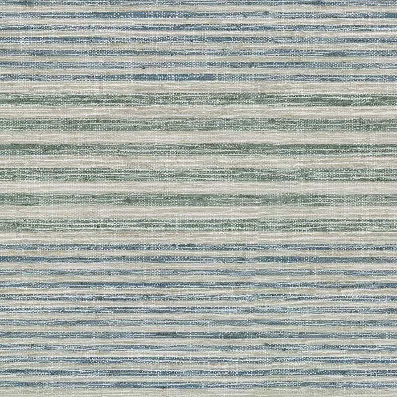 Waverly Weekend Stripe - Seaglass 654580 Fabric Swatch