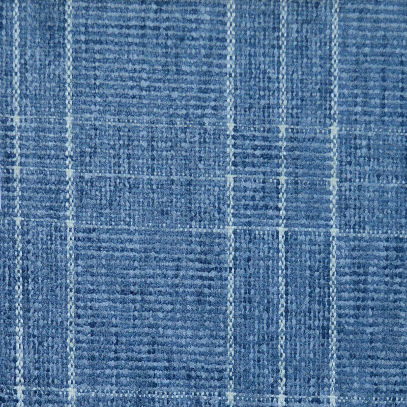 P/K Lifestyles Logan Check - Silver 408906 Fabric Swatch