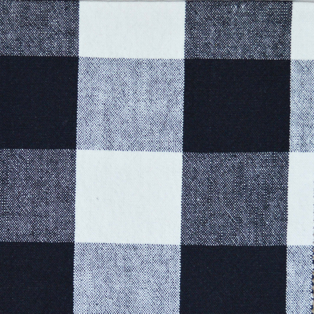 Ellen Degeneres - Claiborne Check Domino 250452 Fabric Swatch