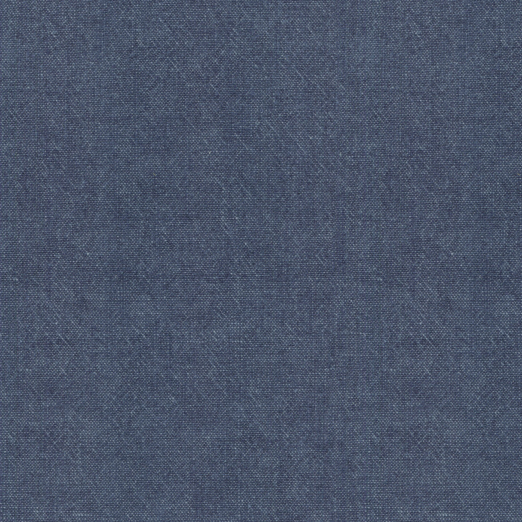 Ellen Degeneres - Cleary Indigo 250446 Solid Fabric Swatch