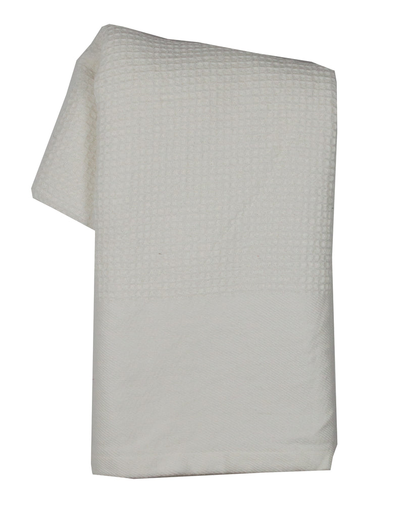 Tea Towel - Dunroven House Prewashed Waffle Weave Solid Color