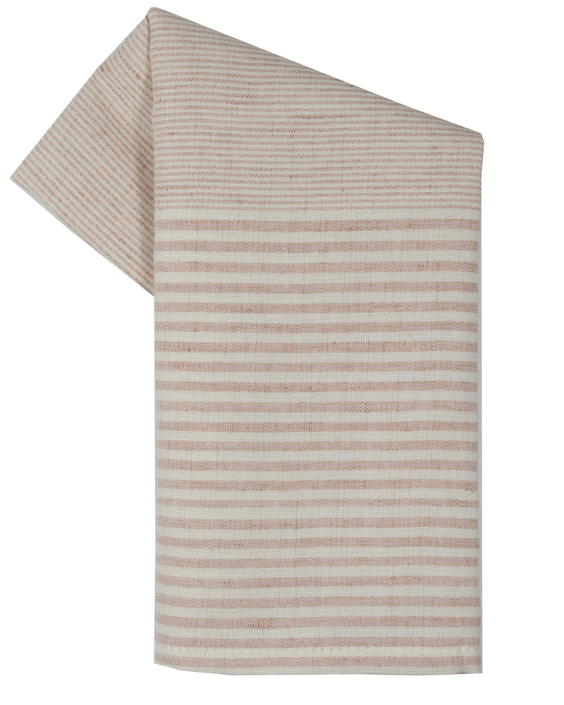 Tea Towel - Dunroven House Mini Stripe Cotton Linen Towel