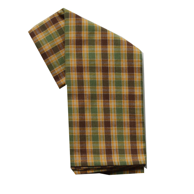 Tea Towel - Dunroven House Sage Plaid Series