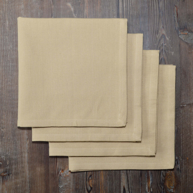 Hemmed Solid Color Napkin Set of 4