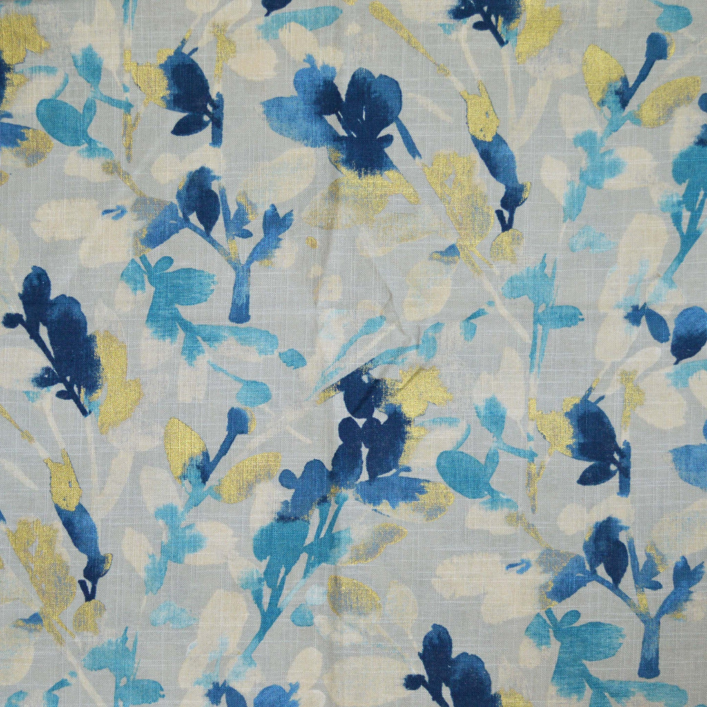 Waverly - Leaf Storm Indigo 679481 Fabric Swatch