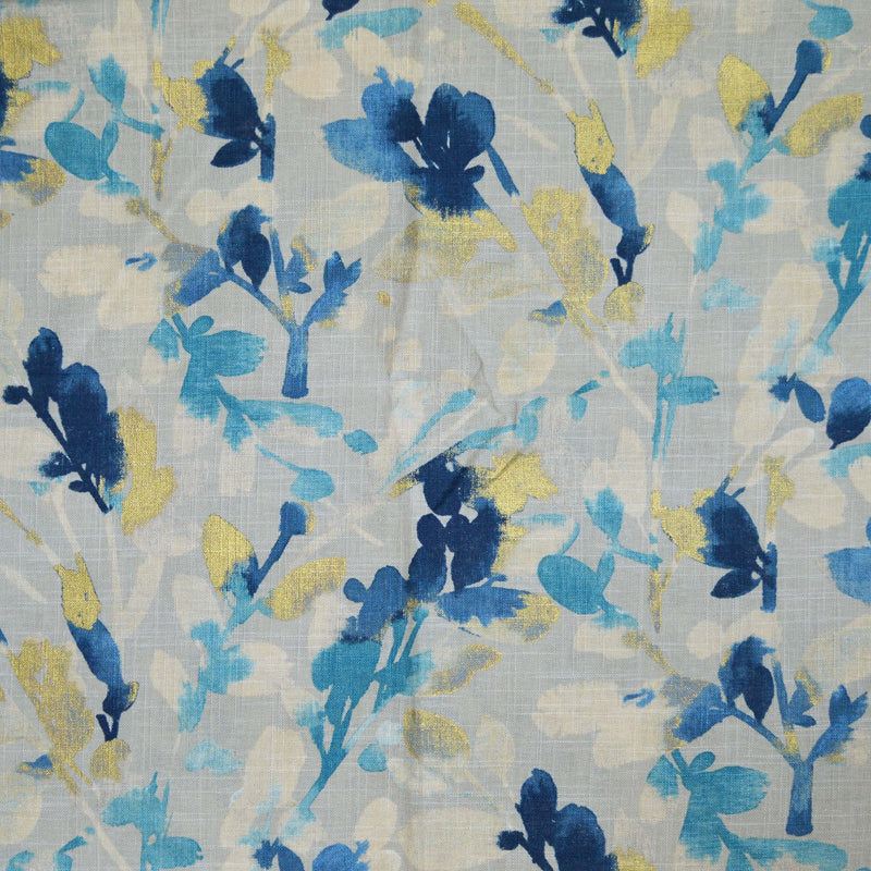 Genevieve Gorder - Tropical Fete Onyx 450040 Fabric Swatch