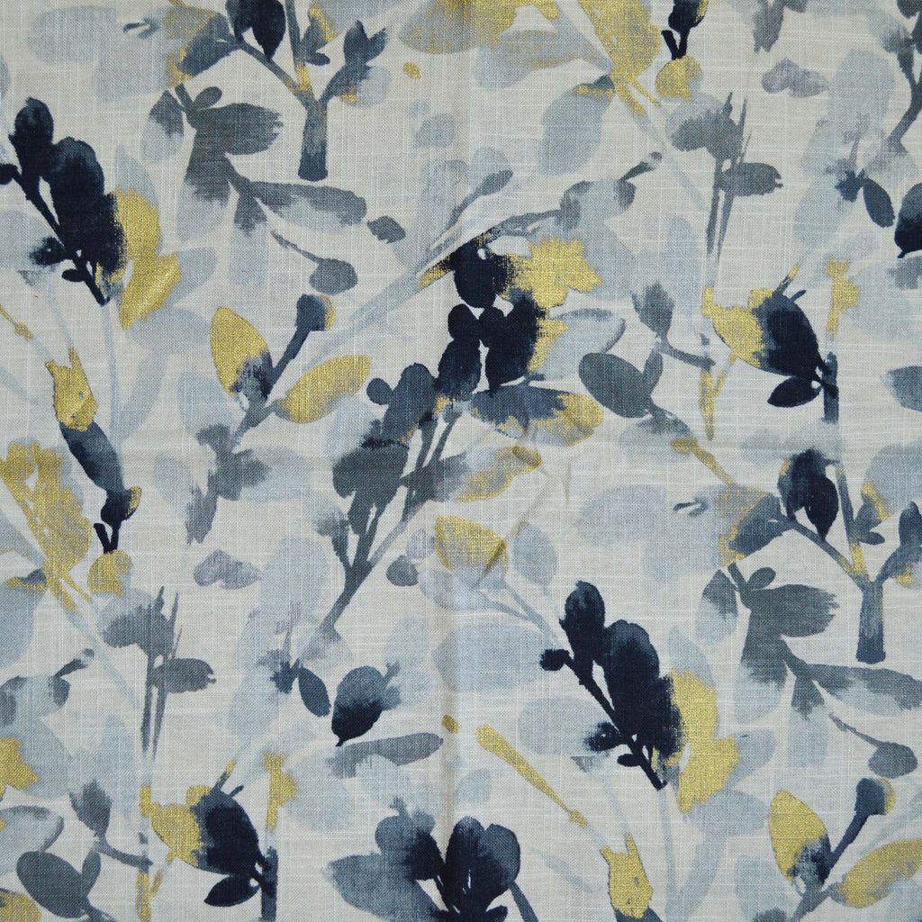 Waverly - Leaf Storm Graphite 679480 Upholstery Fabric