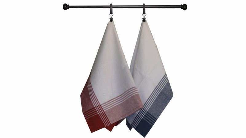 Fall Seasonal Towel Set Red Dijon Color