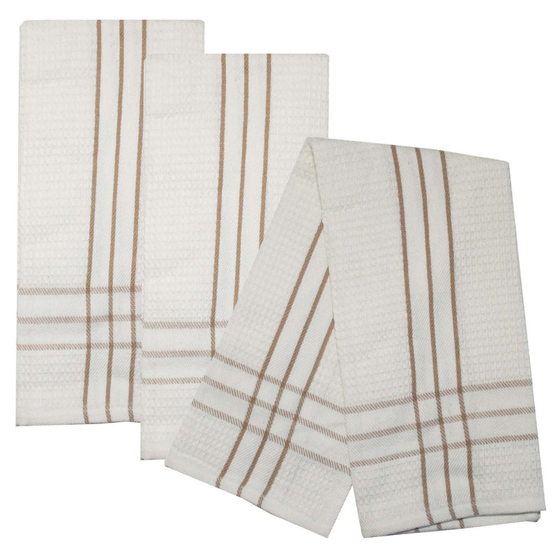 Charcoal Fleck Border Towel Set of 3