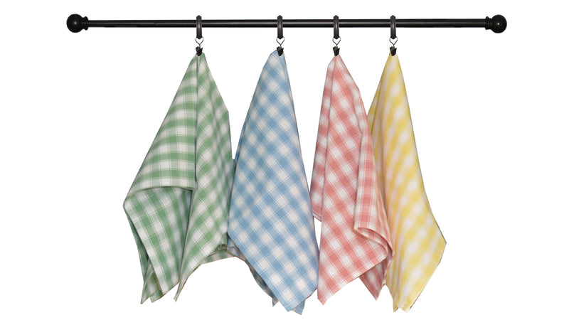 Spring Seasonal Towel Set of 4 - Yellow