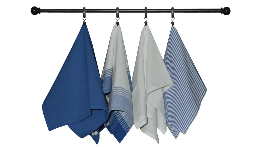 Variety Towel Set - Chambray Set of 4