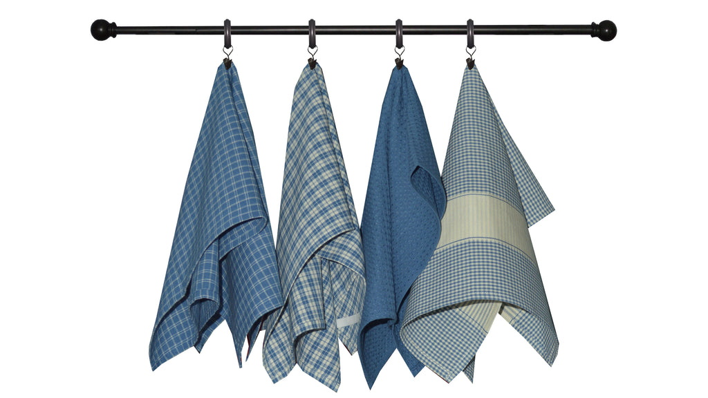 Variety Towel Set - Provencal Blue Set of 4