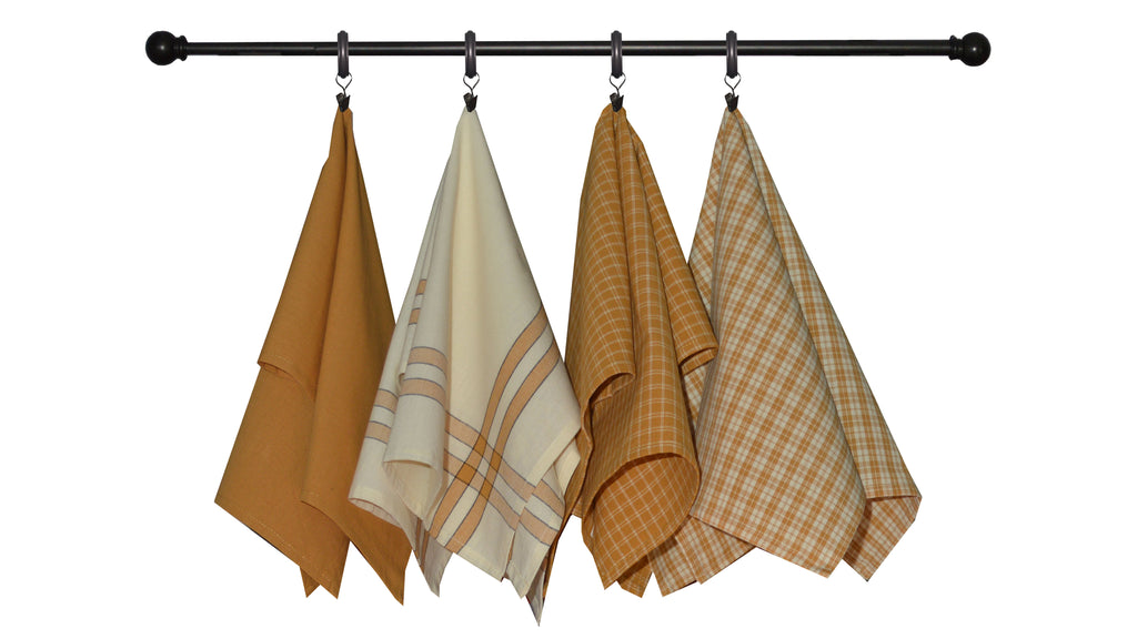 Variety Towel Set - Pumpkin Set of 4