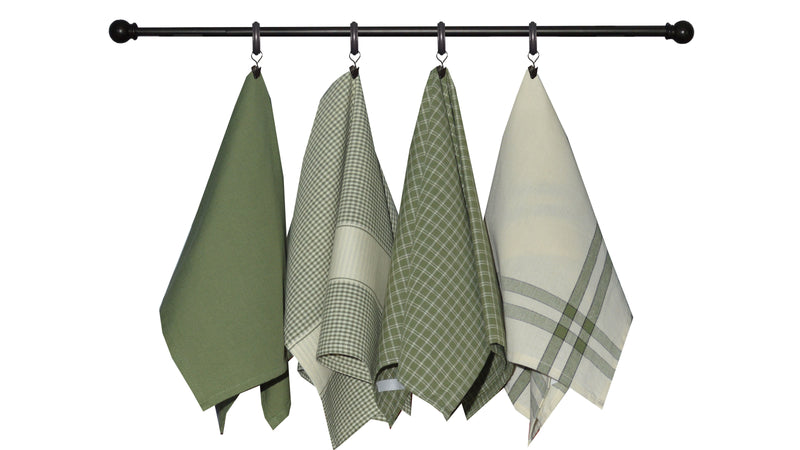 Variety Towel Set - Sage Set of 4