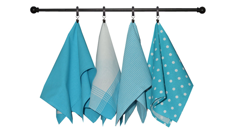 Variety Towel Set - Navy Set of 4