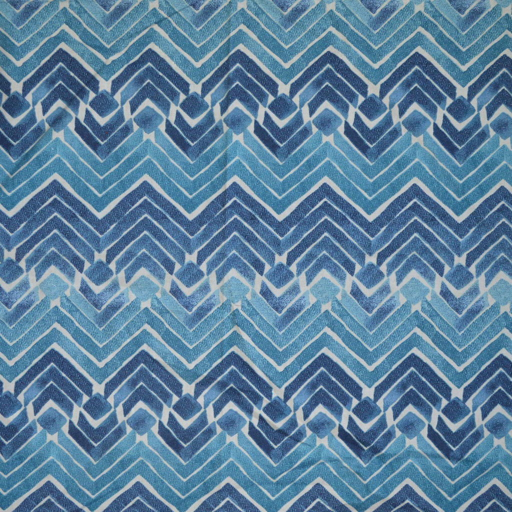 Kelly Ripa Home - Zen Blend Indigo 550160 Fabric Swatch