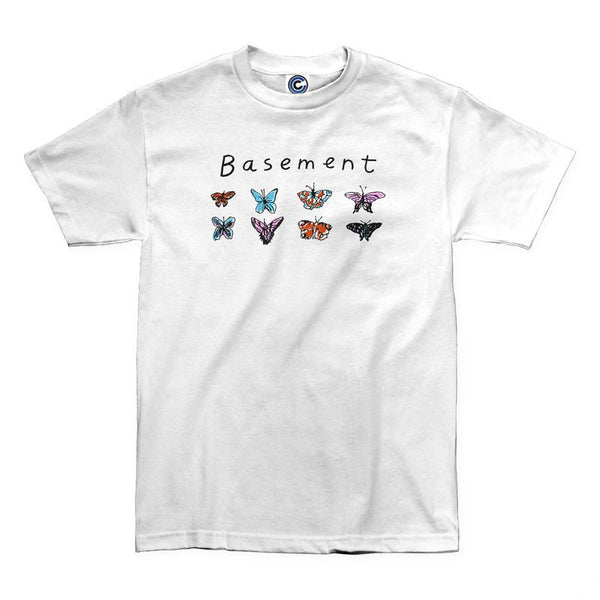 BUTTERFLY TEE WHITE