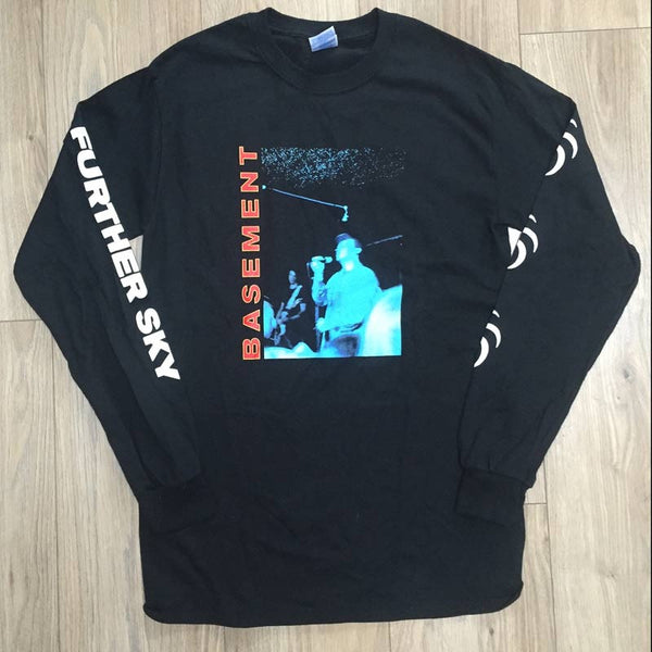 FURTHER SKY LONG SLEEVE BLACK TEE
