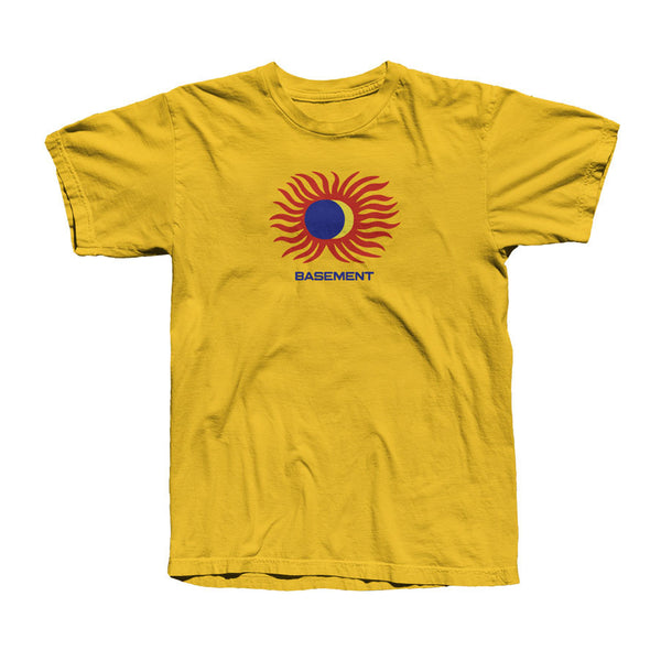 ECLIPSED SUN GOLD TEE