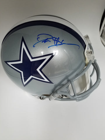 Deion Sanders Autographed Dallas Cowboys Full Size Authentic Helmet