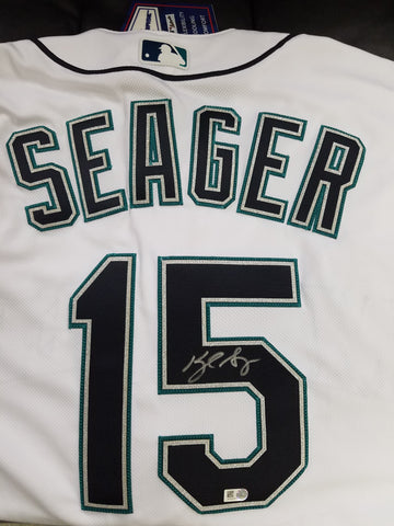 Kyle Seager Autographed Authentic Mariners Authentic Jersey