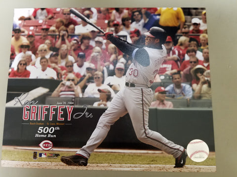 UNSIGNED Ken Griffey (500th HR) 8x10