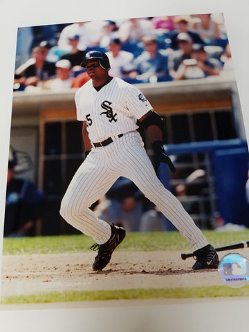UNSIGNED Frank Thomas (running) 8x10