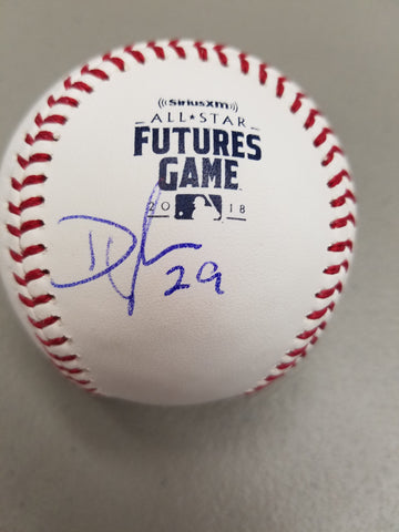 Dylan Cease Autographed 2018 Futures Logo Baseball