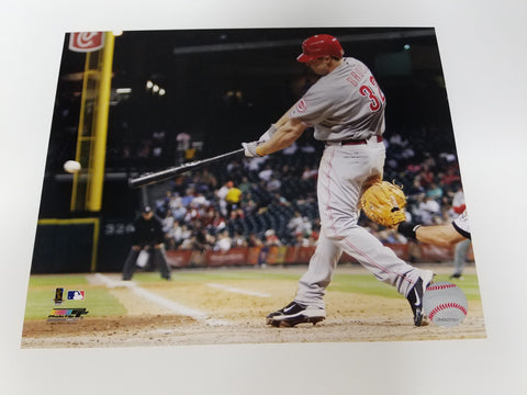 UNSIGNED Jay Bruce 8x10
