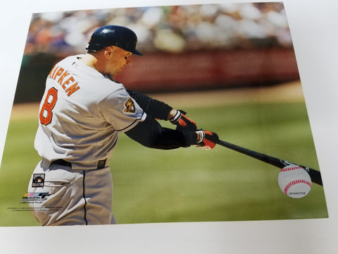 UNSIGNED Cal Ripken (batting2) 8x10