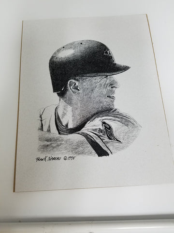 UNSIGNED Cal Ripken (pencil) 8x10