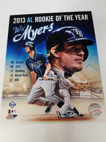 UNSIGNED Wil Myers (stats) 8x10