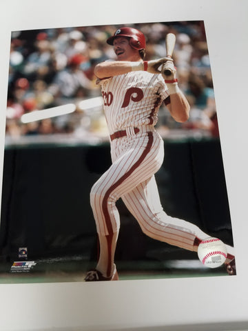 UNSIGNED Mike Schmidt (batting2) 8x10