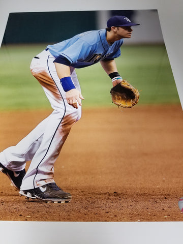 UNSIGNED Evan Longoria Field 16X20