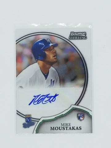 Mike Moustakas Autographed Player Card