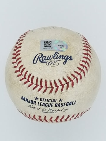 Peterson vs Harvey 6-21-15 Game Used Baseball