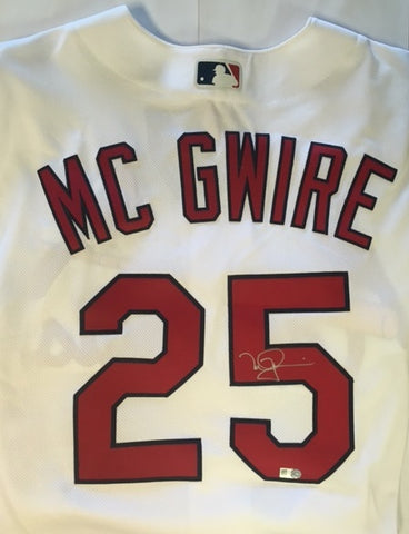 Mark McGwire Autographed Cardinals Jersey