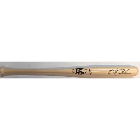 Brandon Belt Autographed Bat